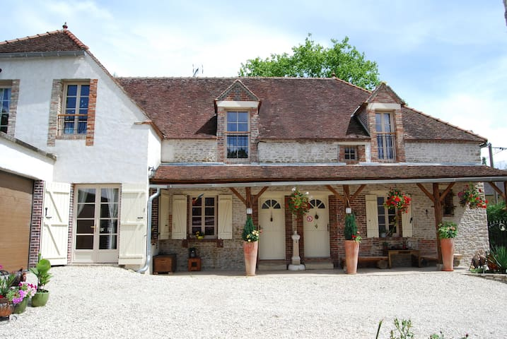 La ferme des Coccinelles-Chambre Jonquille - Courtaoult - Domek gościnny