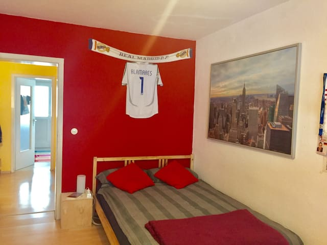 Sunny room, central mannheim - Mannheim - Appartement