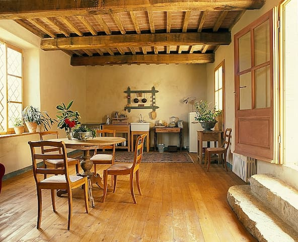 Stylish apartment in organic farm  - Barberino Val D'elsa - Wohnung