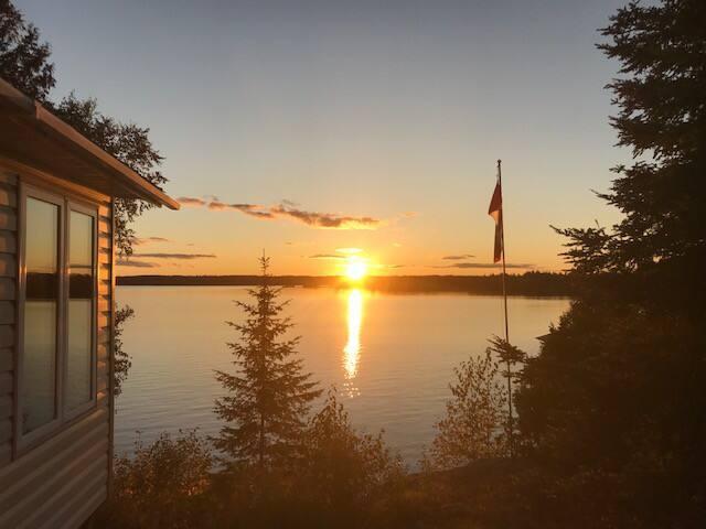Cottage on Minisinakwa Lake.