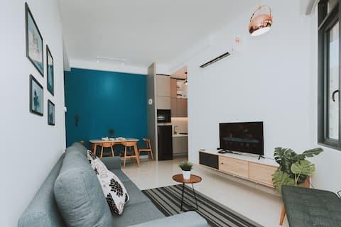 ♥CoupleGetaway♥Stylish Home Level32, 2BR2BA@情侣豪华公寓