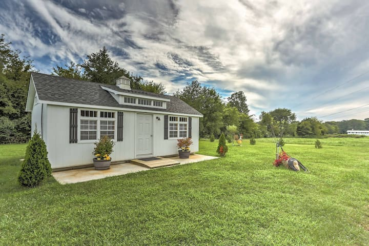 NEW! Tranquil Franklin Studio on 15 Acres!