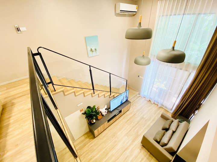 Huastay Jan.13| Duplex room | loft style  | 可加床