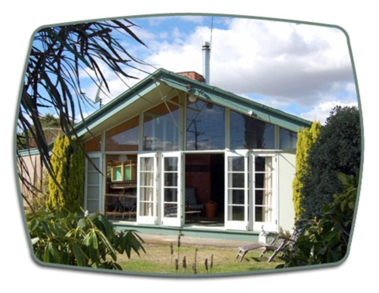 Retro Modern House