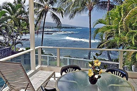 Kona Oceanfront Home in Alii Point