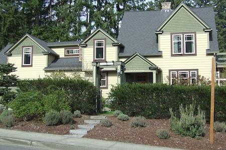 Best rated-The Parsonage B & B! - Gig Harbor