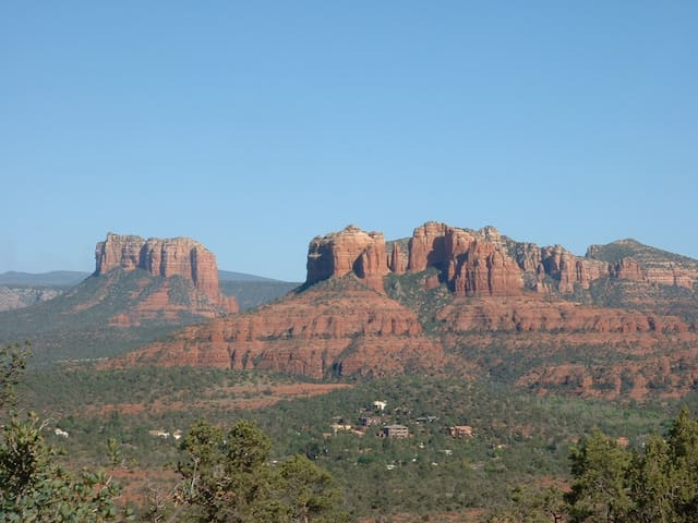 One of the famous views in nearby red rock country on the Coconino National Forest.
