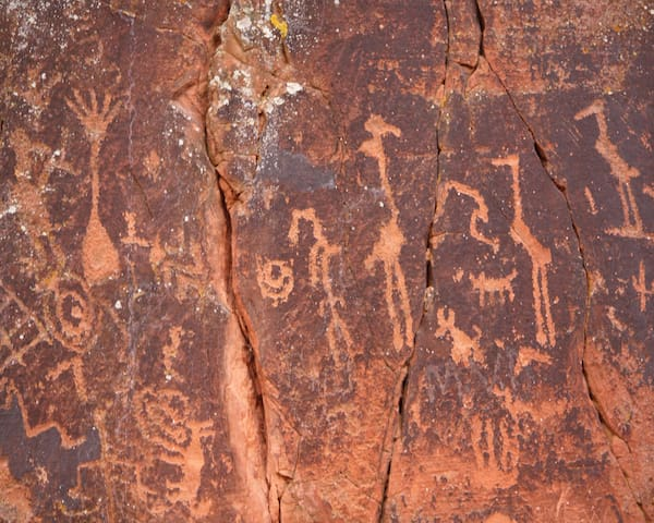 V Bar V Heritage Site. Over 1,100 petroglyphs only a 10 min. drive from the studio.