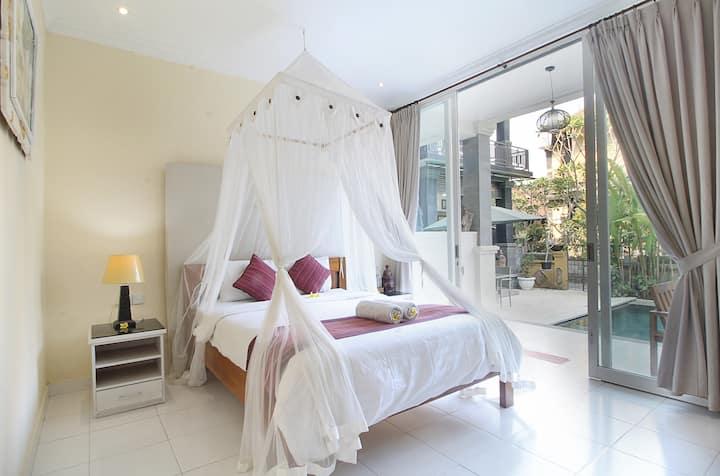 Sekembang Ubud Villa#Standard Room Pool View