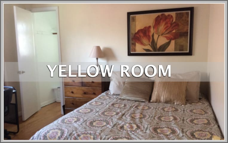 Med Students on Short Term Rotation Yellow Room - Oak Lawn - House