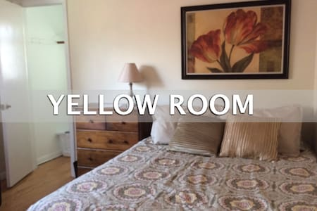 Med Students on Short Term Rotation Yellow Room - Oak Lawn