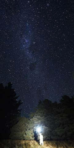 Stars as seen by one of our guests from China, he'd never seen stars before!