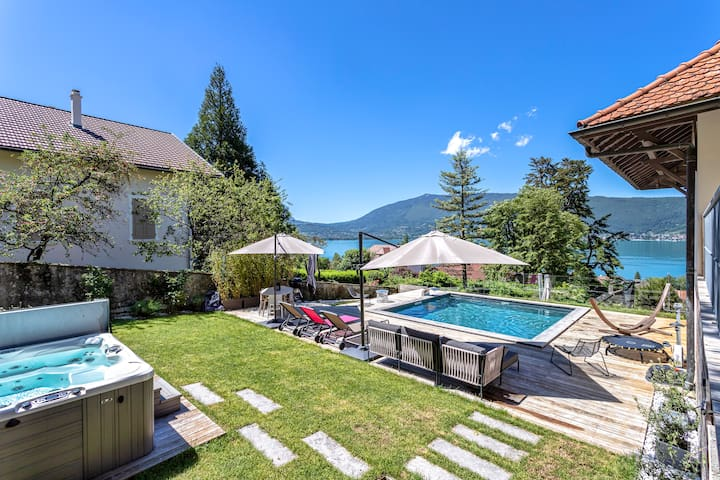 Appartement: vue Lac avec piscine - jacuzzi privés