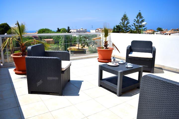 bilocale, terrazza vista mare zona - selinunte - Apartment