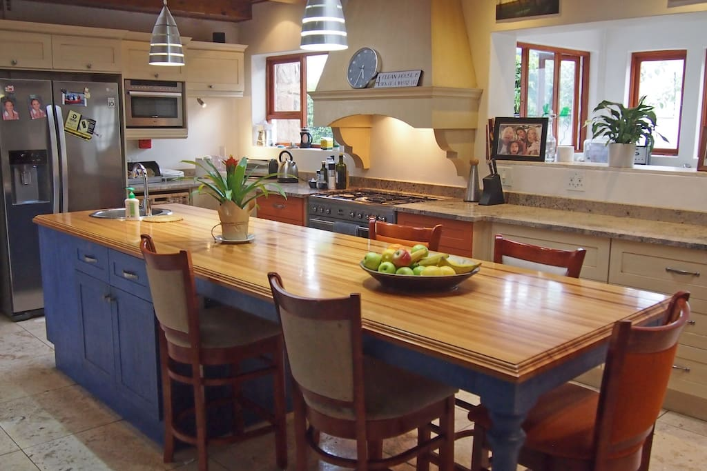 State of the art kitchen with scullery