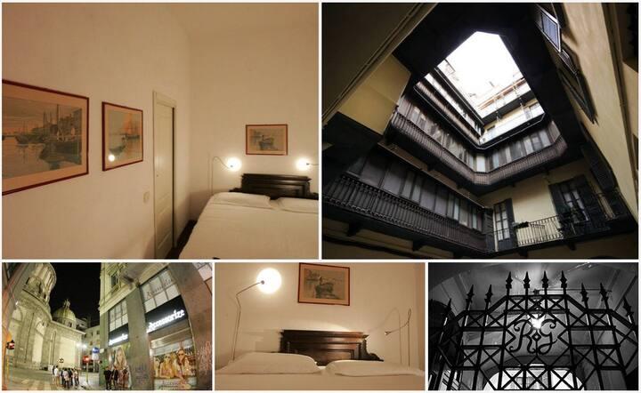 Doble room in  Duomo