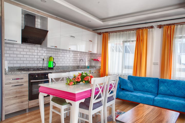 KONYAALTI Luxury apartment with terrace-11