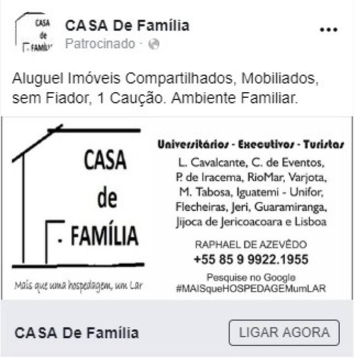 Férias Janeiro 6p Apart. Inteiro Fortaleza 2020