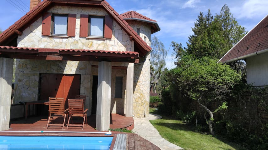 Fantastic Chalet at Lake Balaton - Balatonudvari - Hus