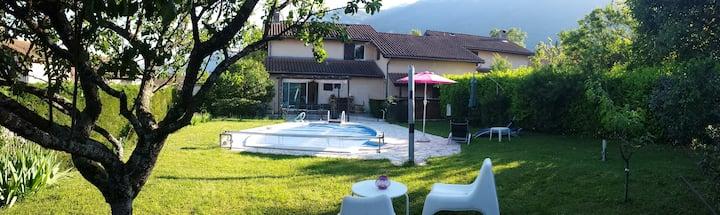 Maison à Claix avec piscine privée
