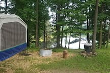 Another view of campsite.