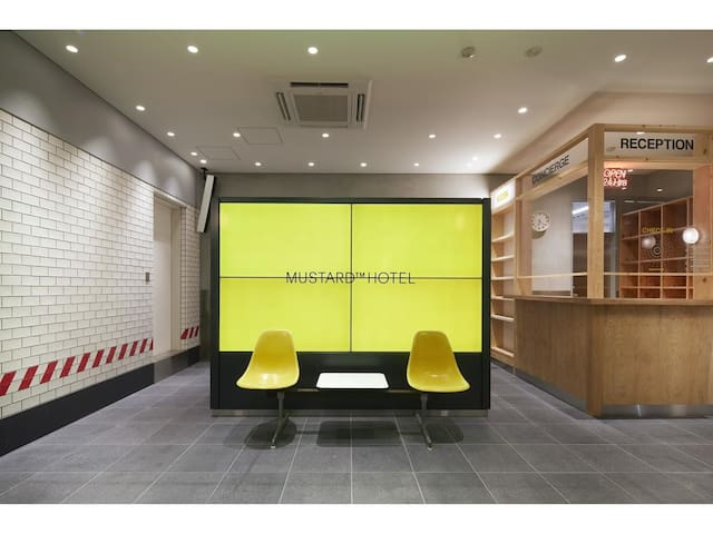 MUSTARD HOTEL SHIBUYA PRIVATE DOUBLE