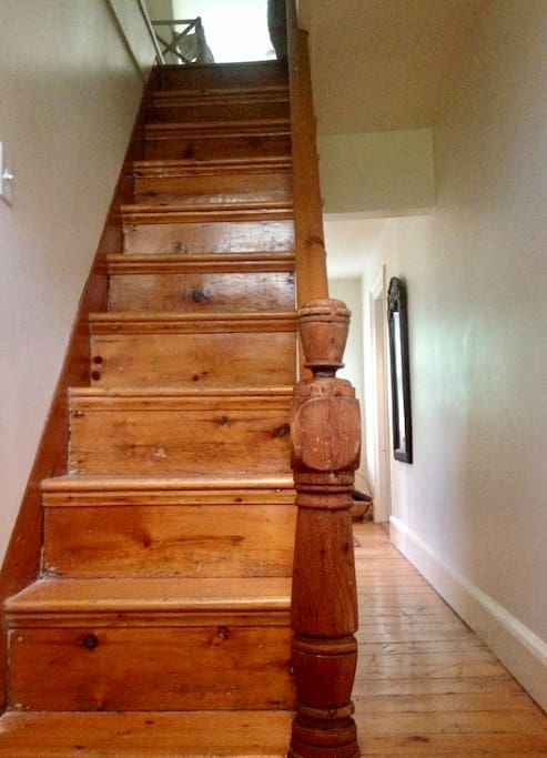 Stairs to Bedrooms & Bath