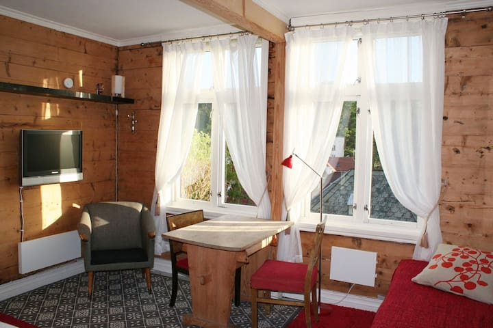 2019: TV is no longer in the room, but table with 2 chairs and one extra bed, size 90 x 200 cm, and two windows with view to the sea