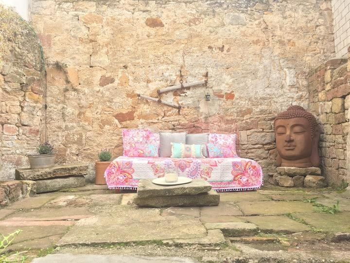 Denkmal geschütztes Haus, 400 J. alt, bis 7 Pers.