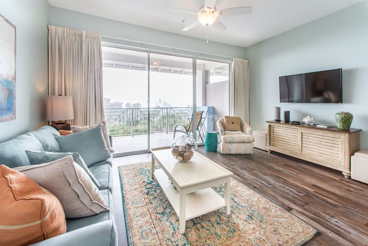 30A☀️Near Beach-3 Pools☀️Inspected & Disinfected☀️1BR+Bks-Gulf Place Getaway
