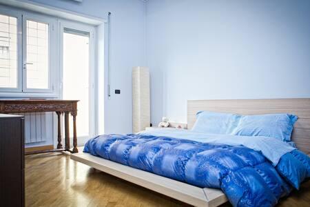 Bright Room+priv bath&balcony +WIFI - Rom