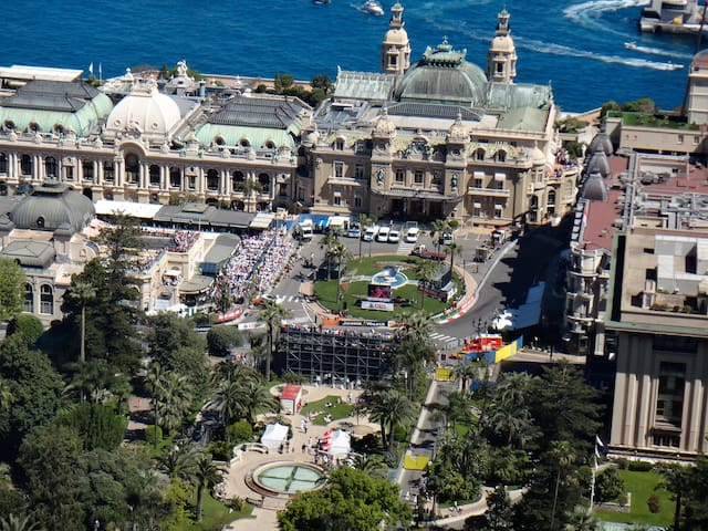 Central studio Monte-Carlo over Casino squire - Monaco - Apartament