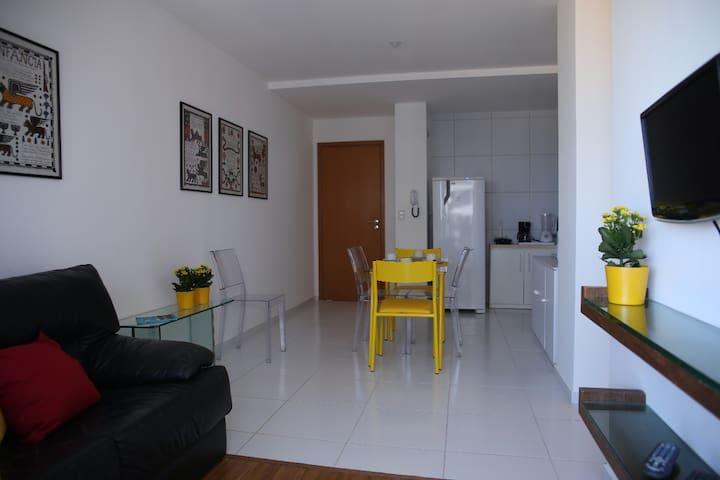 Apartamento para lazer e trabalho