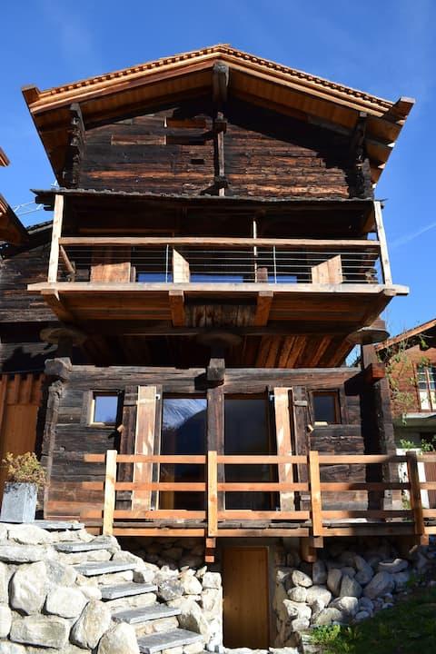 Totally renovated barn, built 1694