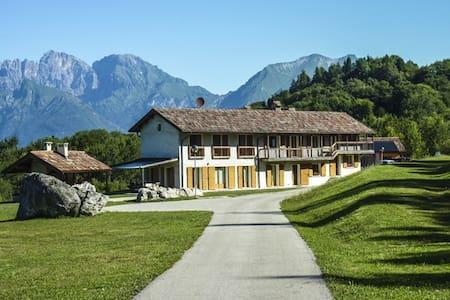 Accogliente camera vista Dolomiti - Limana - Wikt i opierunek