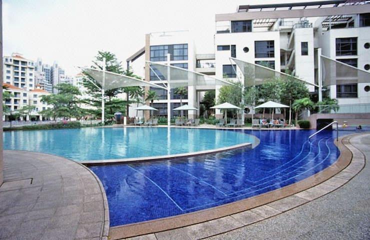 Cosy & quiet bedroom by the river - Singapur - Departamento
