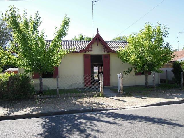 Maison arcachonnaise à Cazaux - La Teste-de-Buch