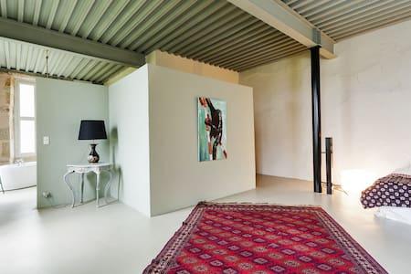Chambre de Cecile in crazy chateau  - Voudenay - B&B