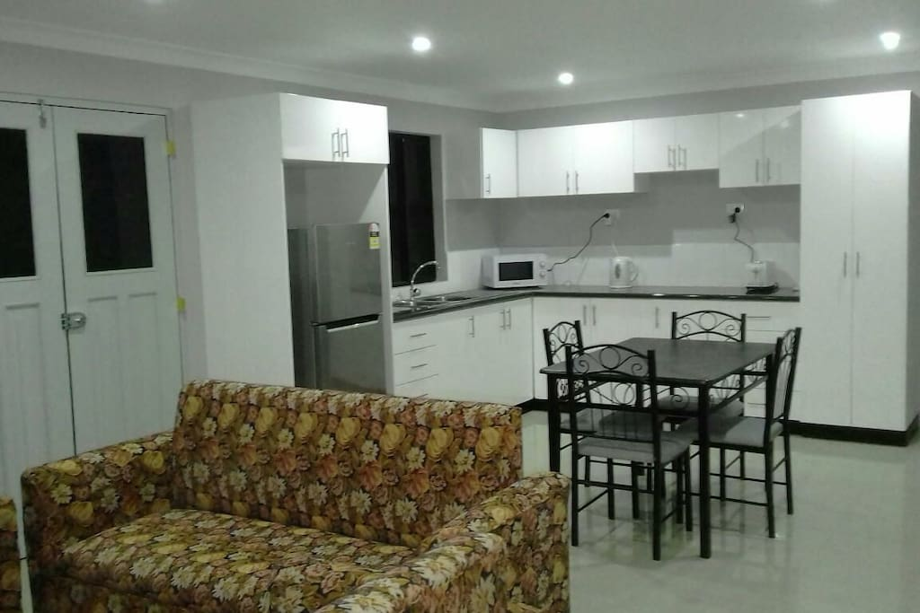 Fully equipped  Private kitchen, with all basic amenities.