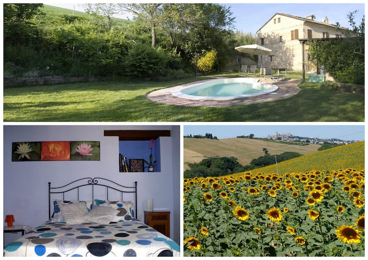 Country house in Marche with pool