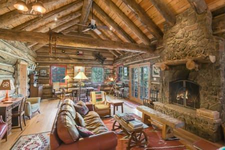 Log Cabin Mountain Hideout - Rociada - Cabaña