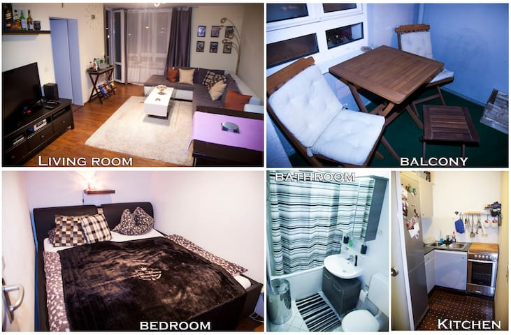 Cozy & Central 2-Bedroom apartment - Munich - Flat