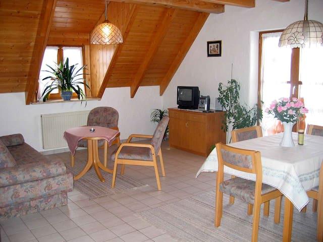 Gasthaus zur Linde-Napf, (Oberried-St. Wilhelm), Ferienwohnung Abendrot, 48 qm, 1 Schlafzimmer, max. 2 Personen