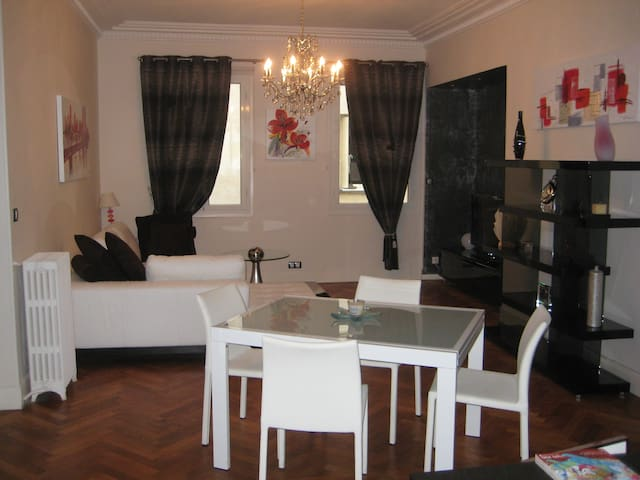 Living Room - With this table for 4 persons which could become for 8