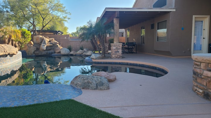 UPDATED, GOODYEAR HOME, HEATED POOL, POOL TABLE