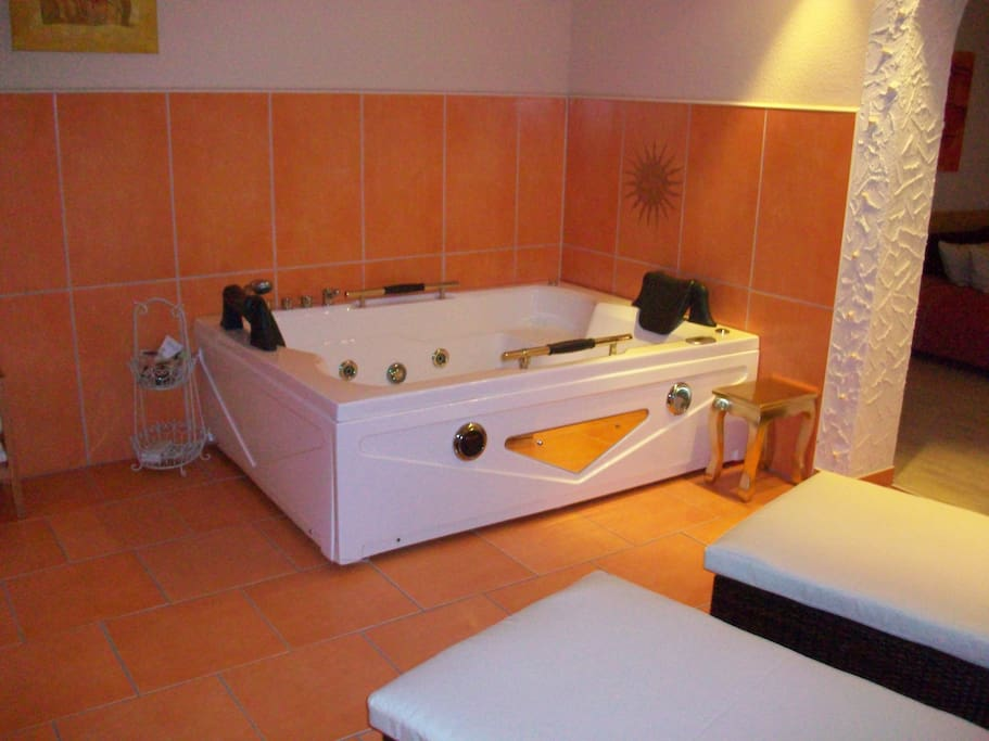 Your jacuzzi - relaxing and invigorating