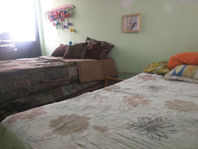 Habitación amplia 4 personas al norte de la ciudad - Aguascalientes - Lägenhet