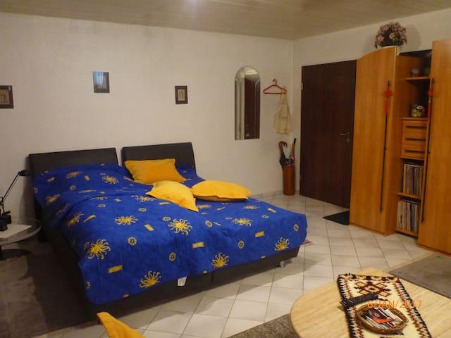 Gemütliches Zimmer für 1 - 2 Personen - Fráncfort del Meno - Apto. en complejo residencial