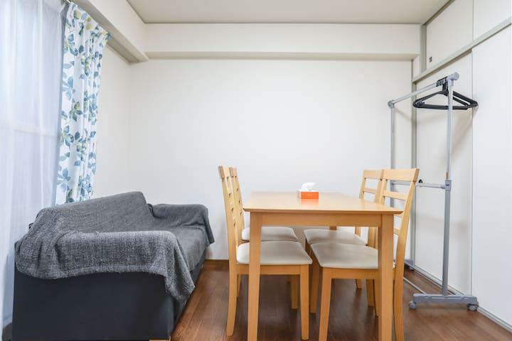 N1. 2minNipponbashi KuromonM/Namba - Ōsaka-shi - Apartment