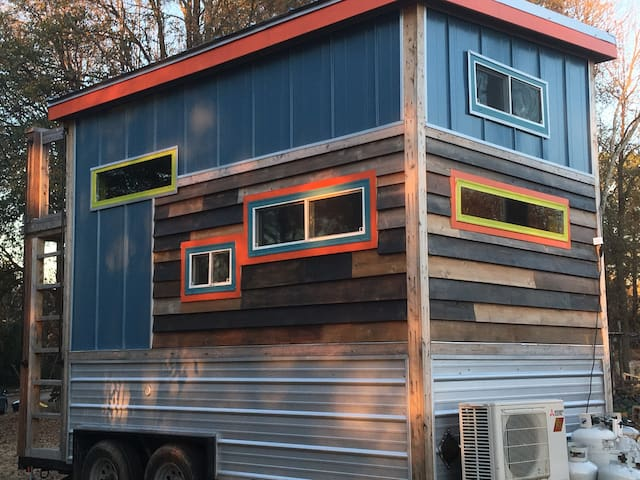 Award Winning Tiny House @ Urban Farm!